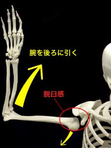 肩関節不安定症ー脱臼感|大阪市住吉区藤田鍼灸整骨院