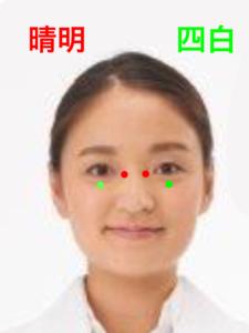 疲れ目のツボ―晴明、四白|住吉区長居西藤田鍼灸整骨院